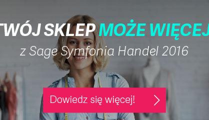 Sage Symfonia 2016 z opcją e-Handel