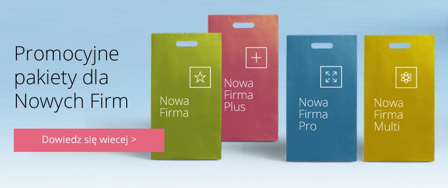 Promocja Enova - Pakiety dla nowo powstałych Firm